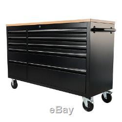 10Drawer Mobile Workbench Tool Chest Cabinet Garage Workshop Tool Storage Box UK