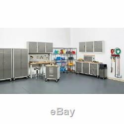12 Drawer Tool 6' Workbench Cabinet Rolling Work Bench Stainless Steel Wood Top