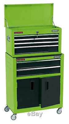 24 Combined Roller Cabinet And Tool Chest (6 Drawer) Draper 19566