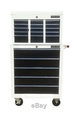 256 Us Pro Tools 14 Ball Bearing Slide Drawers Tool Chest Box Roller Cabinet