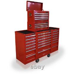 27 US Pro Red Tools Tool Chest Box drawers! Side roll cabinet FINANCE AVAILABLE