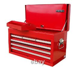 33 US Pro Tools red steel heavy duty Single Top Tool Box Chest cabinet 6 drawers