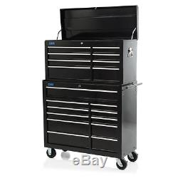 42 Professional 19 Drawer Tool Chest & Roller Cabinet