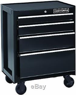 4 Drawer Steel Heavy Duty Rolling Ball Bearing Mechanic Garage Locking Cabinet