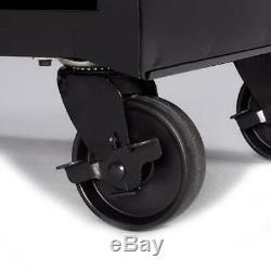 4-Drawer Steel Rolling Tool Box Cabinet Garage Shop Storage Organizer Chest Cart