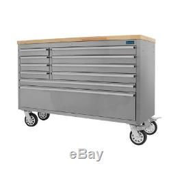 Outstanding 55 Stainless Steel 10 Drawer Work Bench Tool Box Chest Cabinet Caraccident5 Cool Chair Designs And Ideas Caraccident5Info