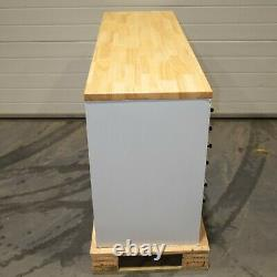 55 Stainless Steel 10 Drawer Work Bench Tool Box Chest Cabinet 2811-2816