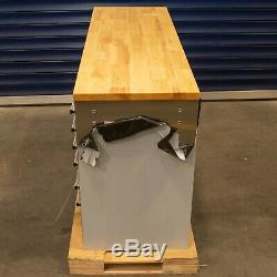 55 Stainless Steel 10 Drawer Work Bench Tool Box Chest Cabinet 9970-9975