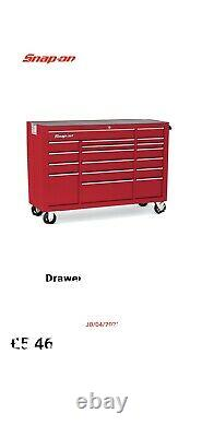 £5600 Snap on tool box 53in 19 Drawer Heritage Roll On Cabinet Massive Saving