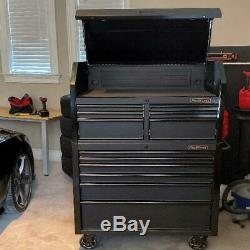 6-Drawer Rolling Tool Chest Cabinet Mobile Workbench 36-In Wide x 24.5-In Deep