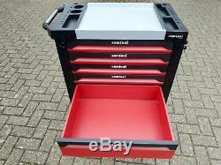6 Drawer Tool Trolley Cabinet 245 Tools Workshop Storage Chest Carrier ToolBox