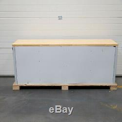 72 Stainless Steel 15 Drawer Work Bench Tool Box Chest Cabinet 4939-4946