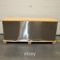 72 Stainless Steel 15 Drawer Work Bench Tool Box Chest Cabinet 9790-9795