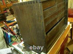 7 Drawer Engineers Tool Cabinet Purchased in 1969 + Another Box Carcase