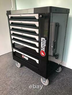 7 Drawer Tool Trolley Cabinet Tools Workshop Storage Chest Carrier ToolBox
