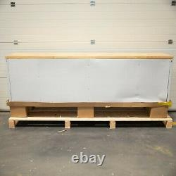 96 Stainless Steel 24 Drawer Work Bench Tool Chest Cabinet 4276-4282