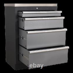 APMS51 Sealey Modular 4 Drawer Cabinet 680mm Modular Storage Systems Superline