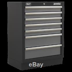 APMS62 Sealey Modular 7 Drawer Cabinet 680mm Modular Storage Systems Superline