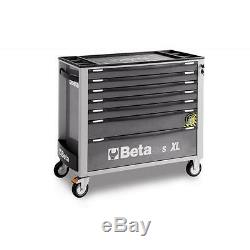 Beta C24SA-XL/7 7 Drawer Extra Long Roller Cabinet With Anti-Tilt System GREY