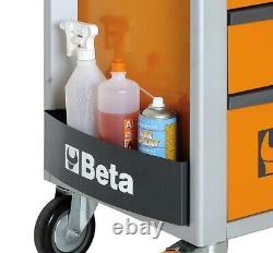 Beta C24S/7-M 7 Drawer Mobile Tool Roller Cabinet Matt Grey