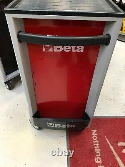 Beta C24S/8 8 Drawer Mobile Roller Cabinet Red 024002083