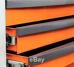 Beta Tools C24S7/R Mobile Roller Cabinet Tool Box 7 Drawer Roll Cab Red Rollcab