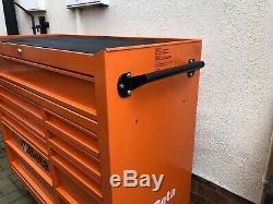 Beta Tools C38O Mobile Roller Cabinet Tool Box 11 Drawers Roll Cab Orange Rollca