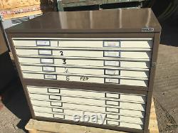 Bisley 10 Drawer Plans Chest Tool Cabinet