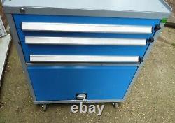 Bott Tool Cabinet Chest on Wheels 3 drawer. New lock. Mechanic. Rare. Good Cond