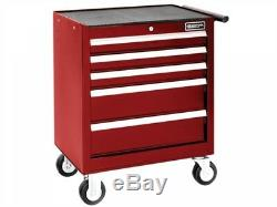 Britool E0101229B 5 Drawer Roller Cabinet Tool Box Chest Red