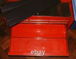 CLASSIC SNAP ON KRA 59 G 9 DRAWER GARAGE MECHANICS TOOL BOX 1 Key 1990 STICKERS