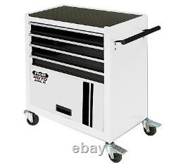 COLLECTION ONLY 4 Drawer Roll Cab Portable Steel Cabinet Tool Storage Chest