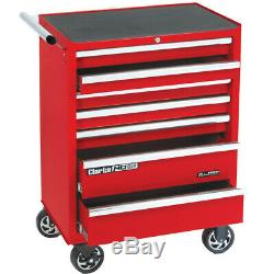 Clarke CBB217B HD Plus 7 DRAWER TOOL CABINET. TOOL BOX. ROLL CAB ROLLER CABINET