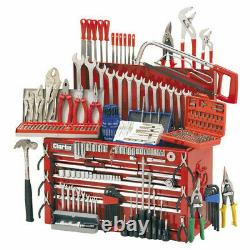 Clarke CHT634 Mechanics Tool Chest And Tools Cabinet Storage 9 Drawer Workshop