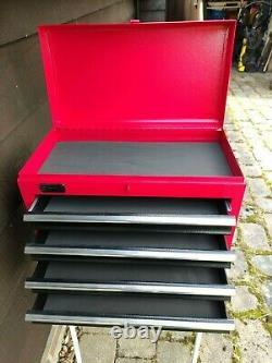 Clarke CTB5C 5 drawer lockable tool chest and cabinet in excellent condition