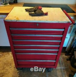 Clarke Pro Tool Cabinet 7 Drawer Roller Cab Chest Box