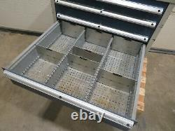 Dexion 7 Drawer Tool Cabinet For Workshop Garage Multi Drawer With Many Dividers