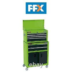 Draper 19566 24in Combined Roller Cabinet and Tool Chest 6 Drawer