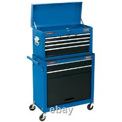 Draper 51177 Two Drawer Roller Cabinet And Six Drawer Tool Storage Chest Garage