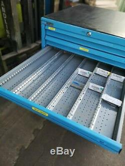 EMPTY POLSTORE NOT BOTT OR LISTA TOOLING CABINET 10 DRAWER with keys