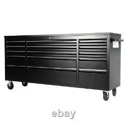 Extra Deep 55/72 in. Mobile Workbench Tool Chest Box Cabinet Storage Drawer Unit