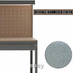 Garage Workbench Drawer Storage Pegboard Tool Box Chest Cabinet Heavy Duty 440kg