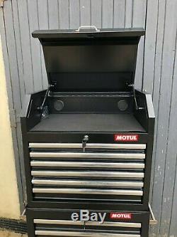 Halfords Advanced 12 Drawer Tool Cabinet Black