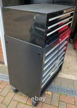 Halfords Advanced Tool Chest & Cabinet 3+6 Drawers BLACK RRP £425 heavy duty