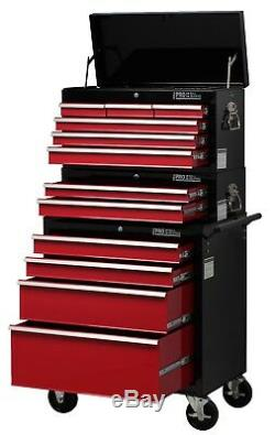 Hilka Tool Chest Trolley Storage Cabinet New 12 Drawer Mobile Cart Roll Cab Unit
