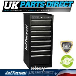 Jefferson 8 Drawer Side Cabinet Tool Chest Box Ball Bearing Runners