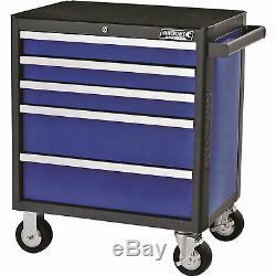 Kincrome Evolve 5 Drawer Tool Roller Cabinet Blue