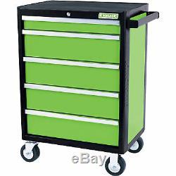 Kincrome Evolve 5 Drawer Tool Roller Cabinet Green