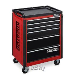 Kreator Large Workshop Garage 8 Drawer Tool Roller Cabinet Storage KRT653001