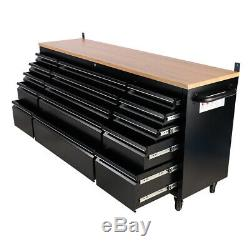 Large Capacity Tool Chest Box Cabinet 10/15 Drawer Garage Workshop Tools Cabinet